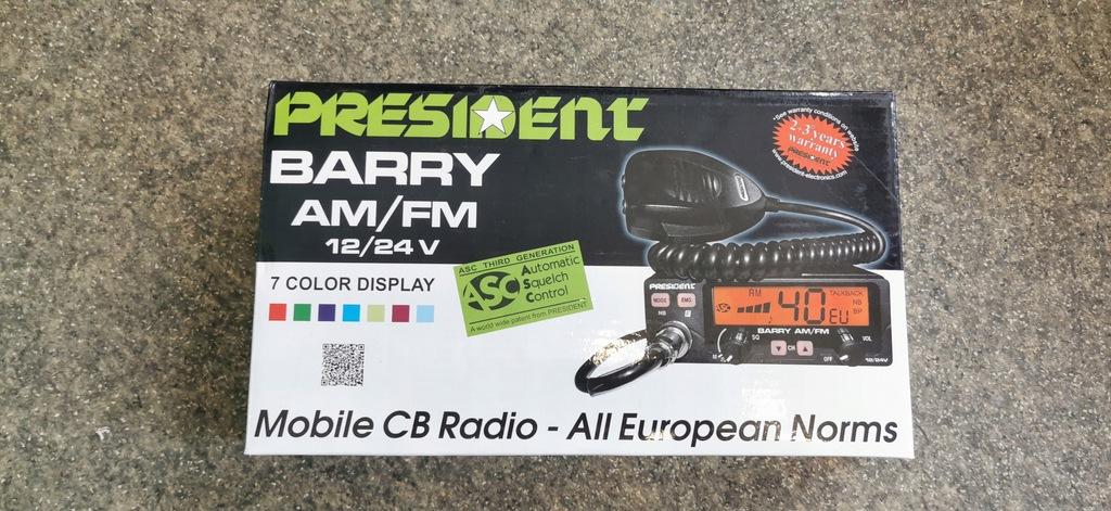 Cb Radio President Barry 7 Kolorów NOWE GWR !!!