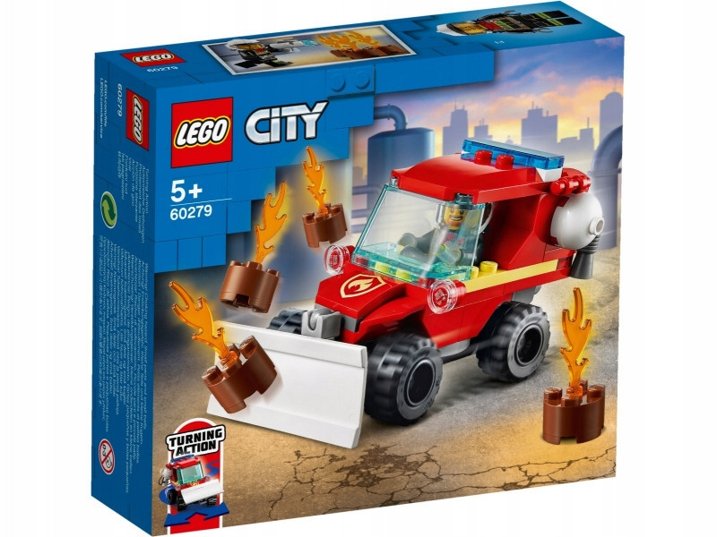 LEGO Klocki City 60279 Mały woź strażacki