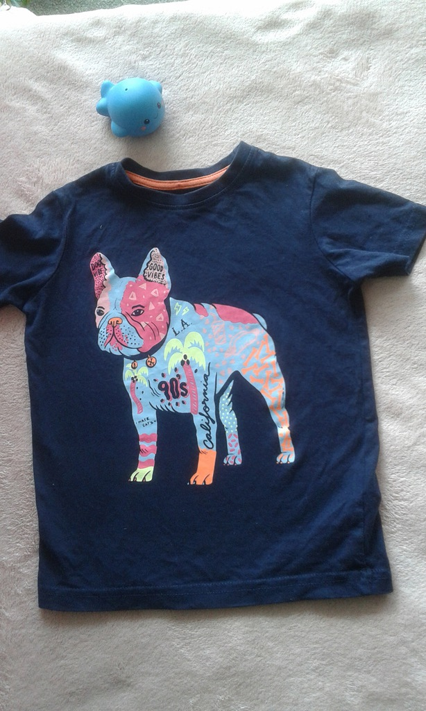 Słodka koszulka buldog francuski