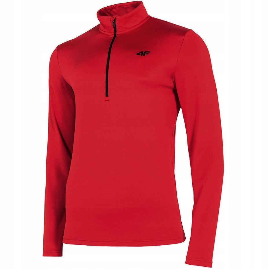 Bluza termoaktywna męska 4F czerwona H4Z19 BIMD002