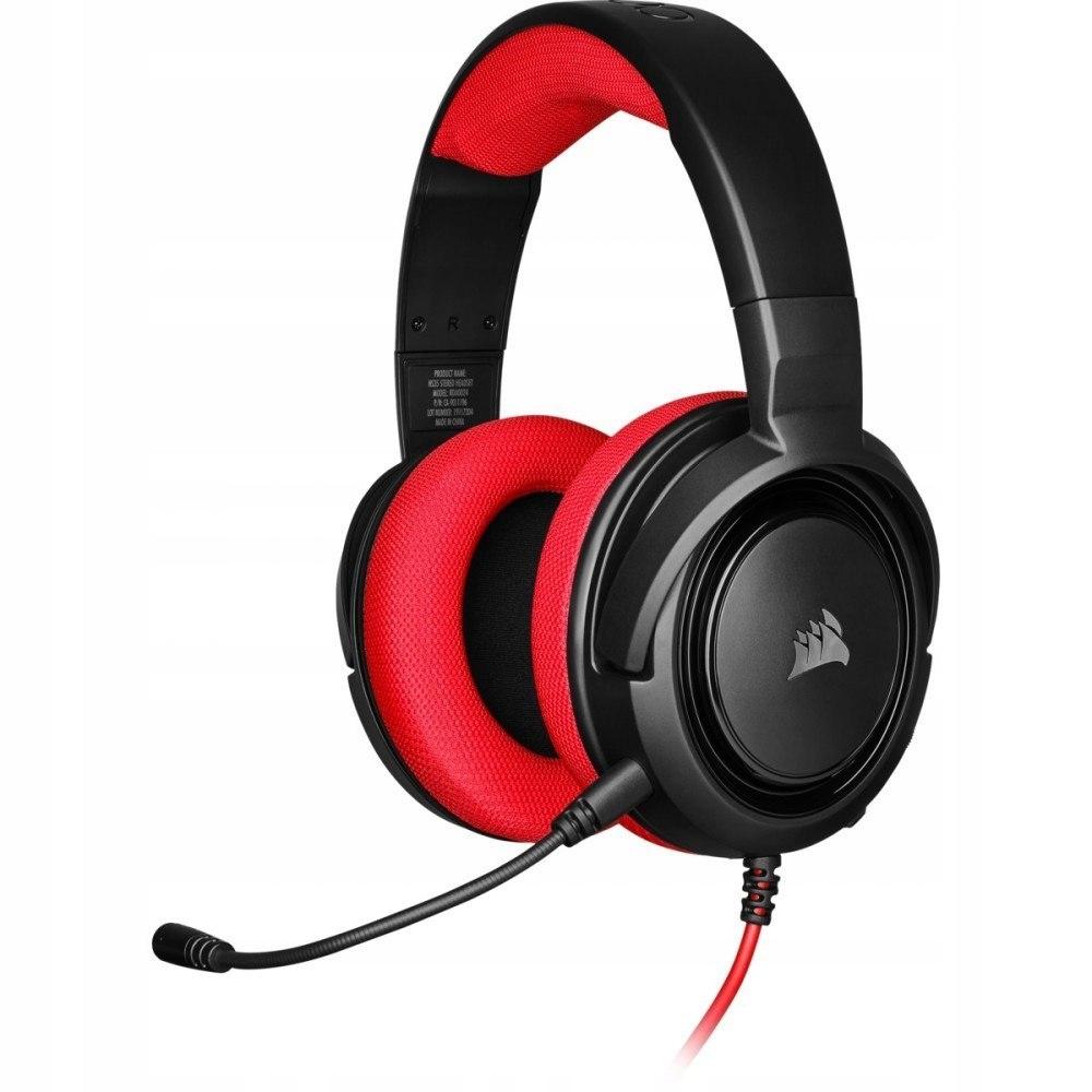 Słuchawki HS35 Stereo Gaming Headset Red