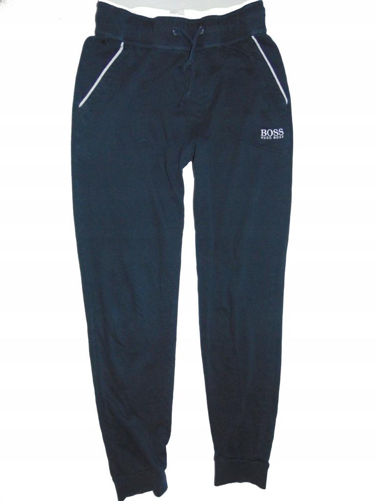 HUGO BOSS lekkie spodnie dresowe męskie r M