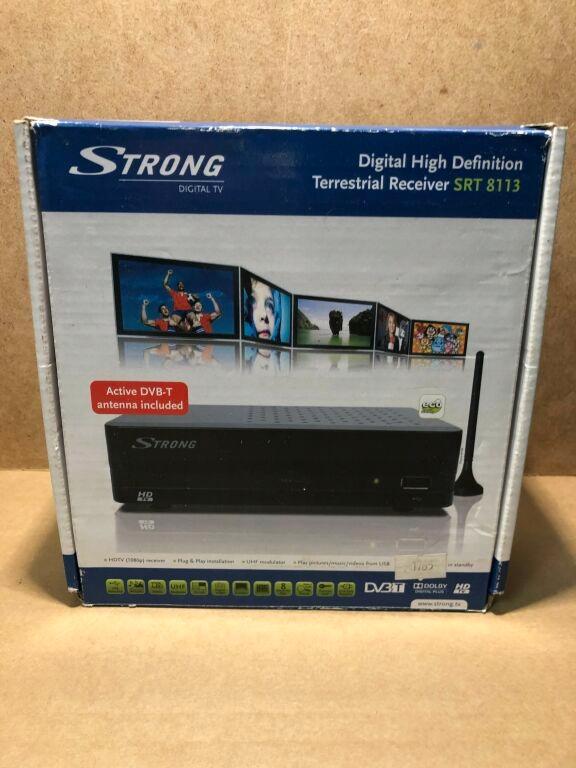 DEKODER DVB-T STRONG STR8113 POLECAMY