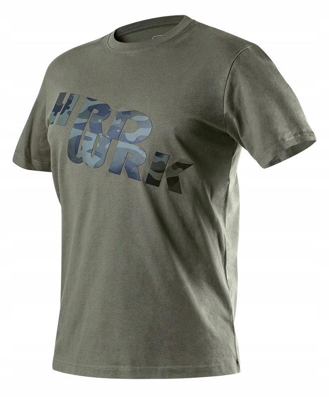 T-shirt roboczy olive CAMO rozmiar L 81-612 NEO