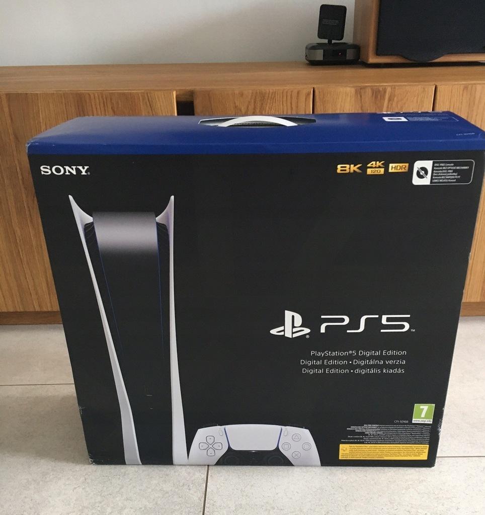 PS5 Digital Playstation 5 NOWA, Gw24m , PLOMBY