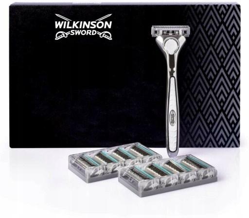 Wilkinson Sword Quattro Titanium Maszynka+9 ostrzy