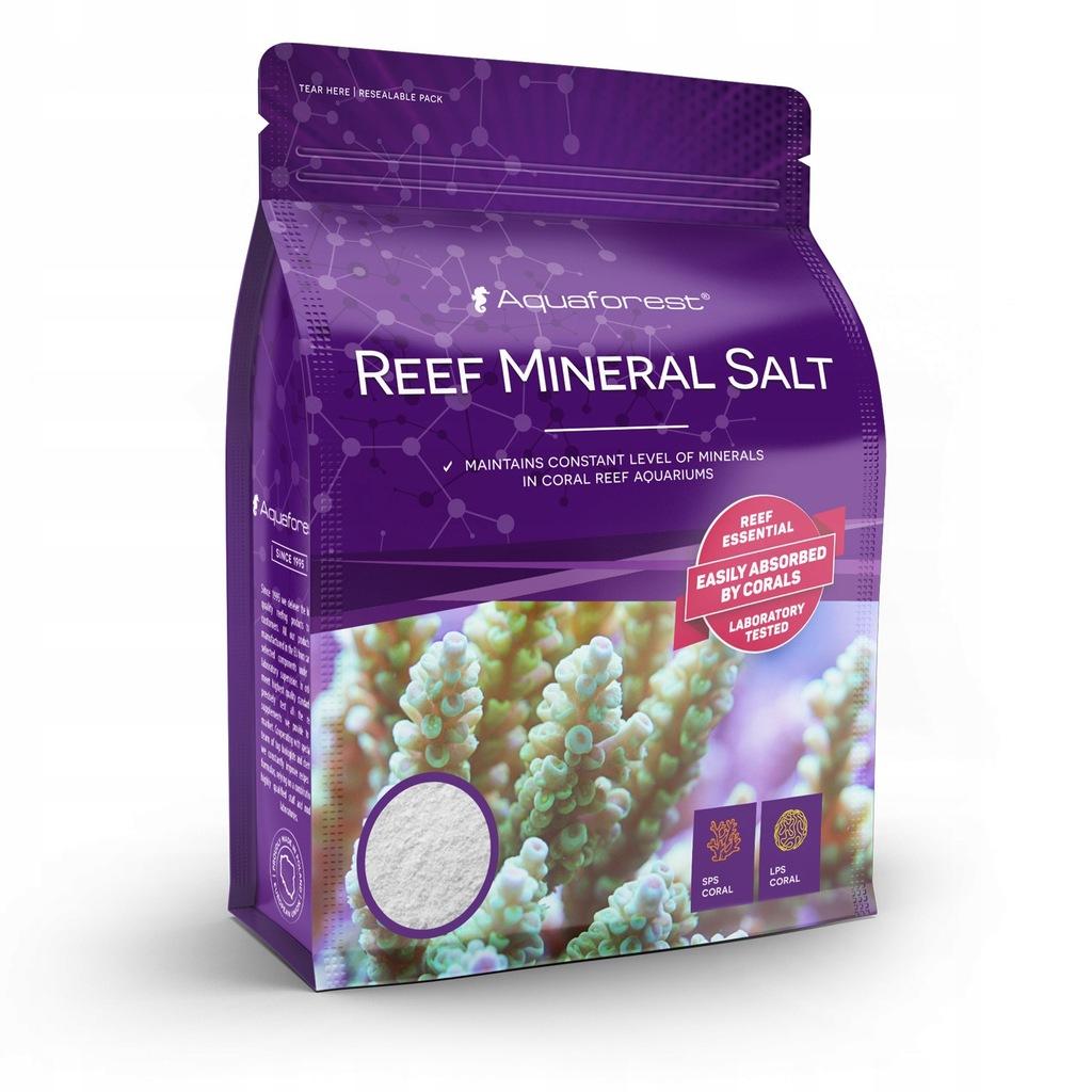 Aquaforest Reef Mineral Salt 800g (worek) ballinga