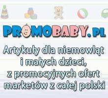 Reklama na stronie głownej serwisu PromoBaby.pl