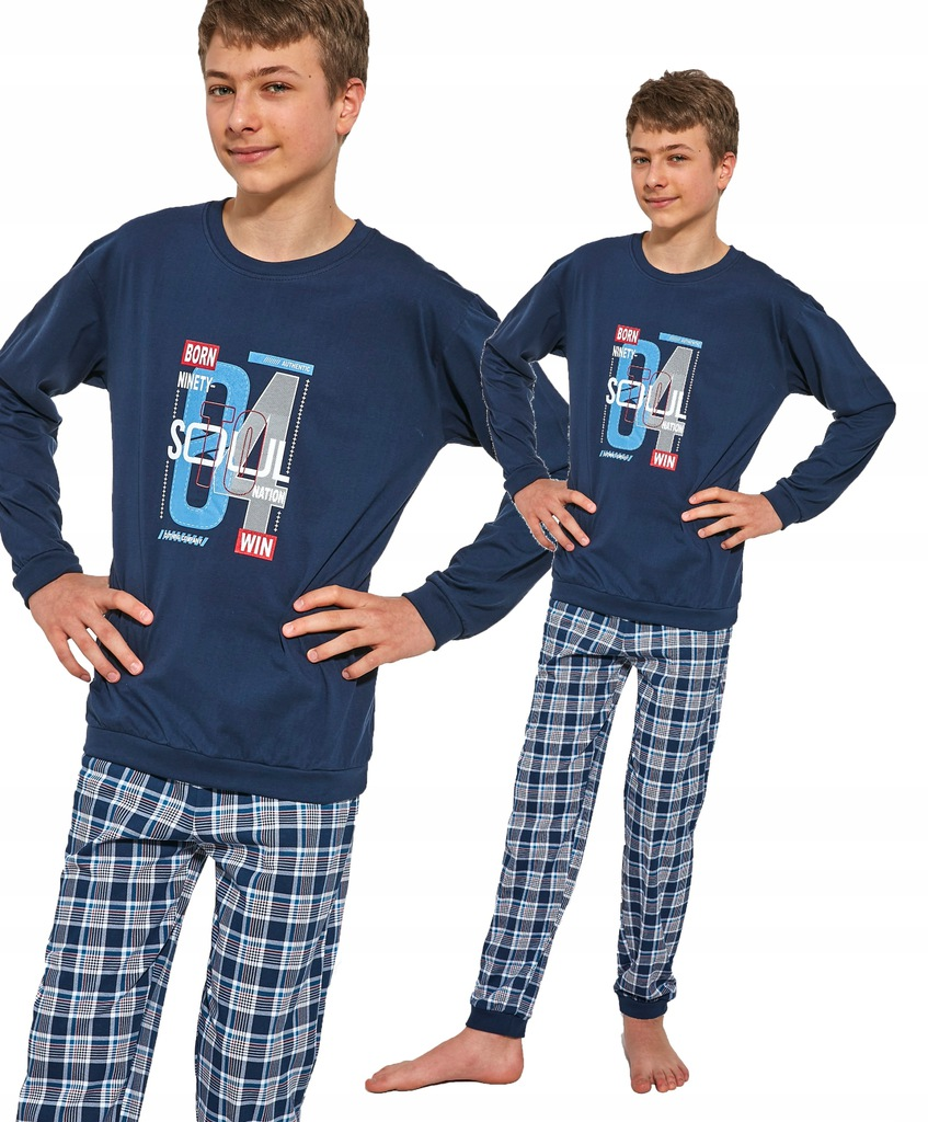 CORNETTE DŁUGA piżama SOUL 967/38 164/XS