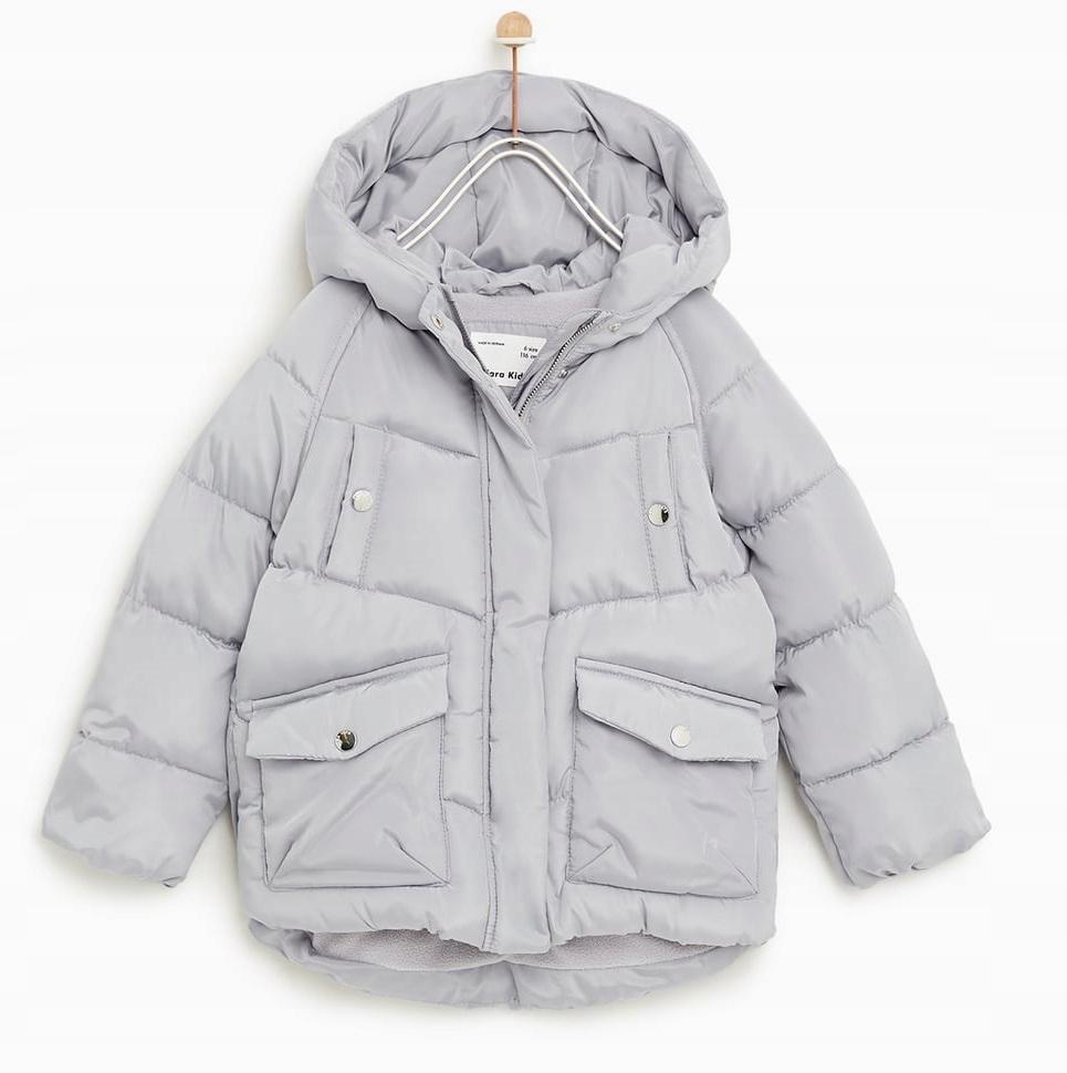 zara kurtka dziecięca zimowa