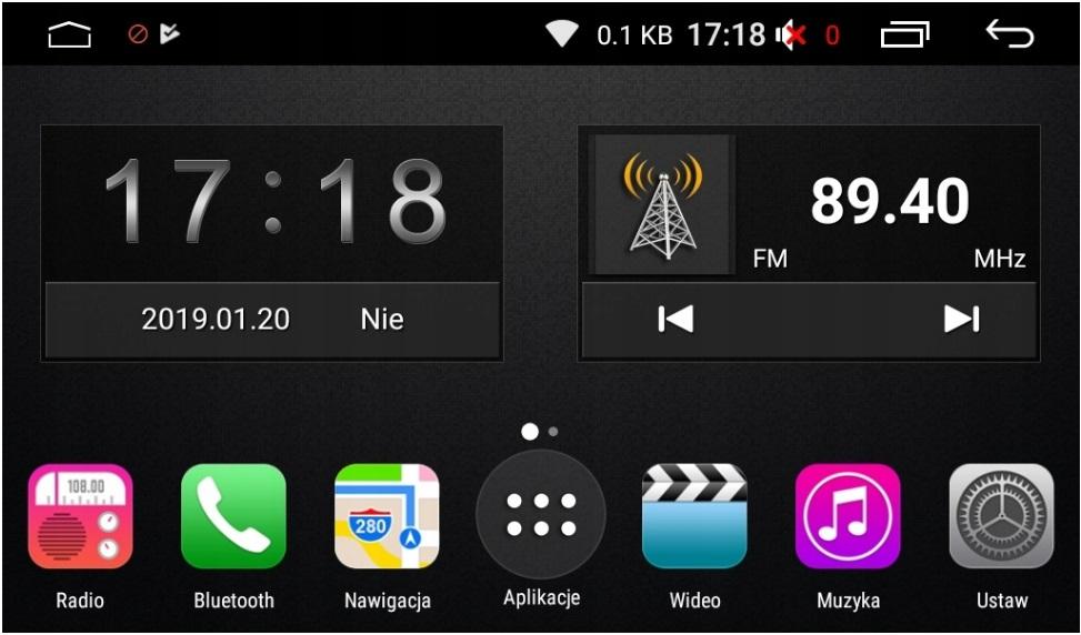 GMS 9401 NAVIX NOWOŚĆ !! ANDROID 8.1 ! uniwersalny