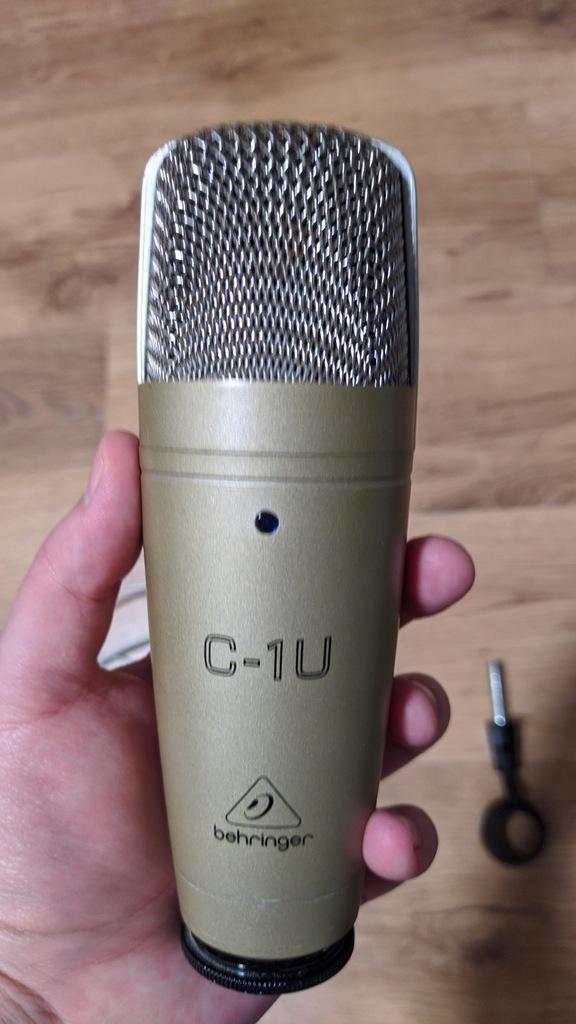 Mikrofon studyjny Behringer C-1U