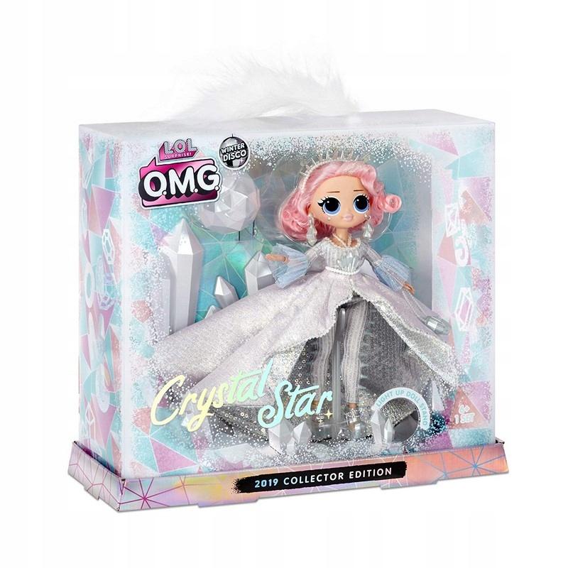 LOL Surprise OMG Winter Disco Crystal Star lalka