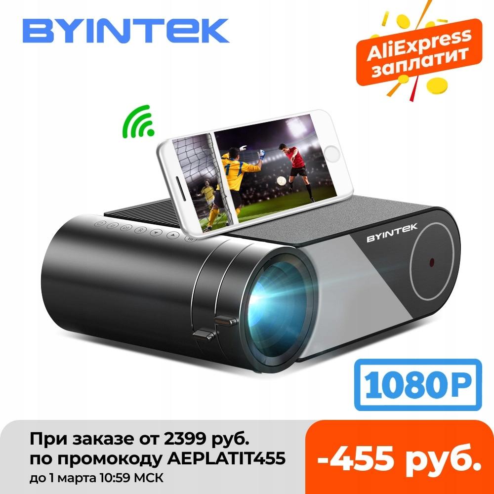 BYINTEK-Przenośny projektor K9 Mini, 1280x720p,
