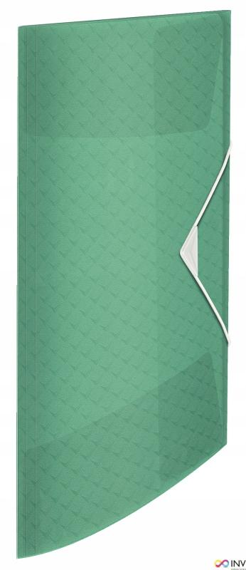 """Teczka z gumką ESSELTE COLOUR""""ICE 15mm zielon"""