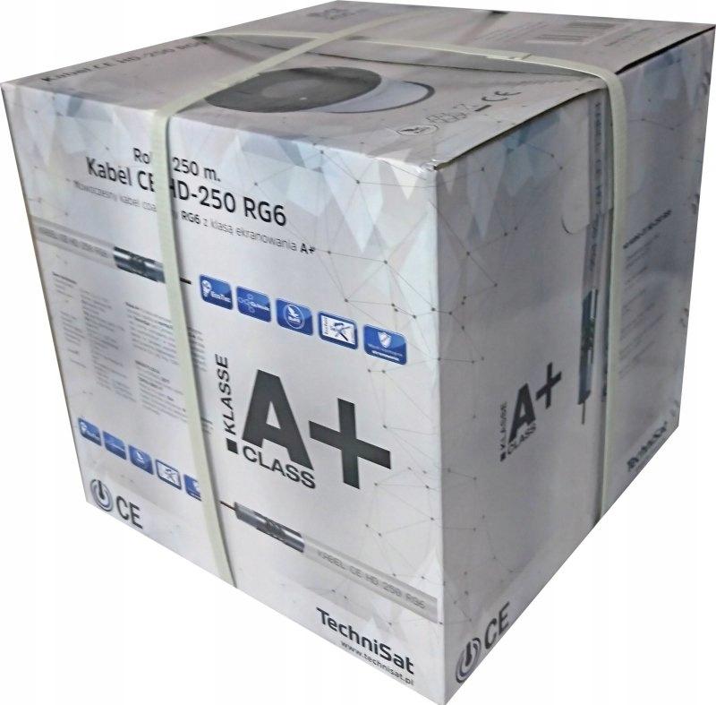 Kabel koncentryczny Technisat CE HD-250 RG6 250m
