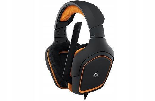 c1824 logitech g231 prodigy słuchawki nauszne