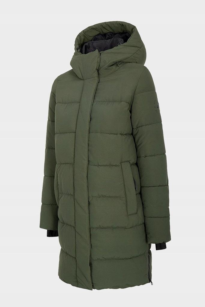 4F Kurtka Płaszcz Zimowy Puchowy KUDP008 > L