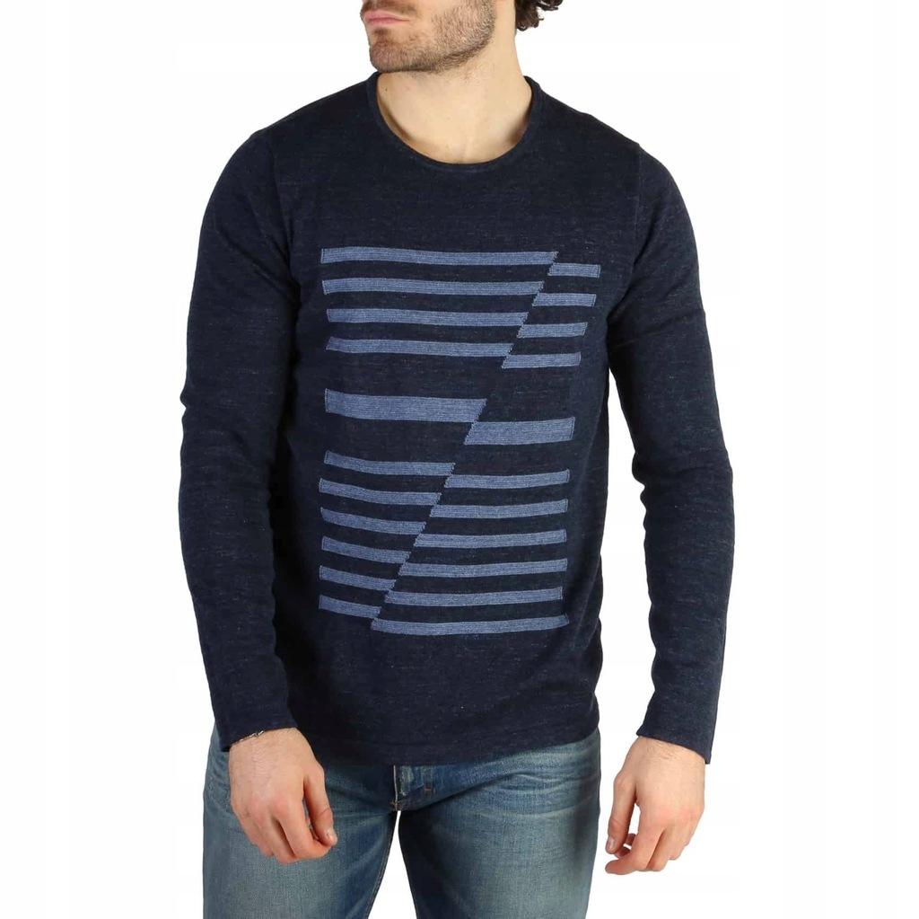 Sweter Męski Calvin Klein - J30J304606 -Niebies L