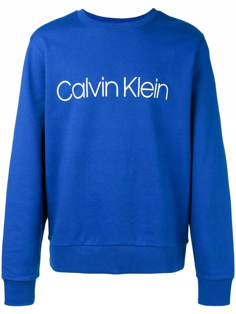 CALVIN KLEIN MĘŻCZYZN NIEBIESKI BLUZY XL INT