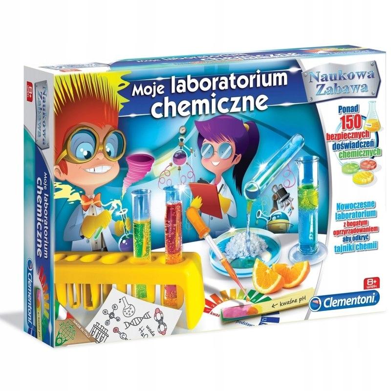 Clementoni Moje Laboratorim Chemiczne 150 doświadc