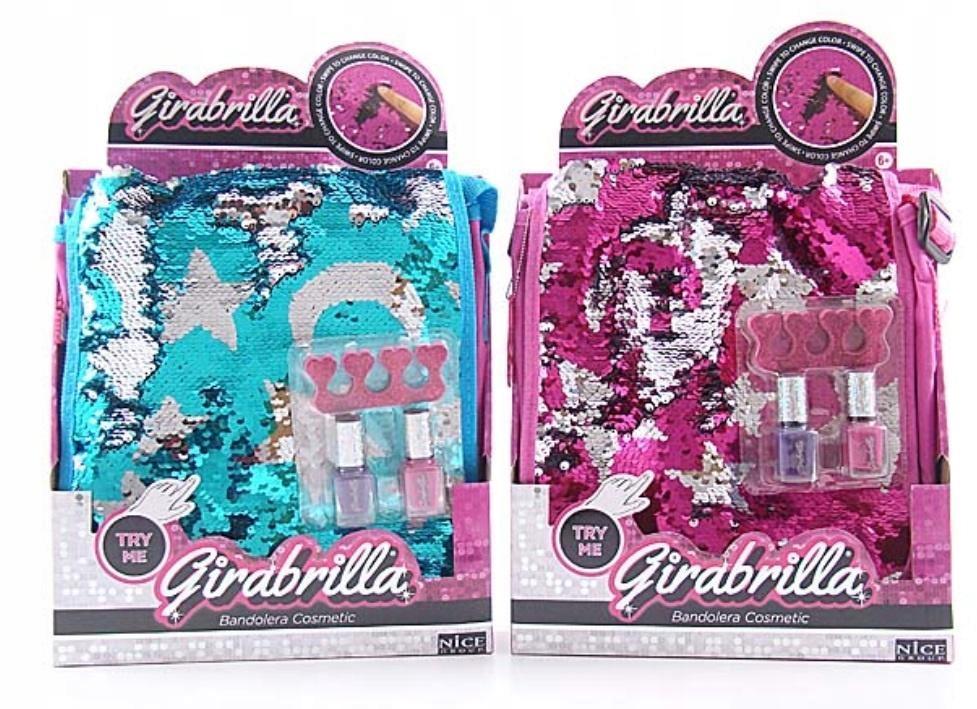Girabrilla Torba listonoszka + zestaw do manicure