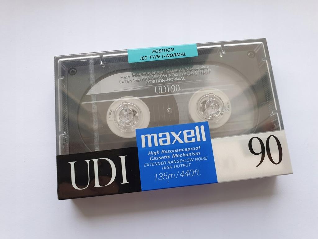 Kaseta MAXELL UD I 90 ( NOWA )