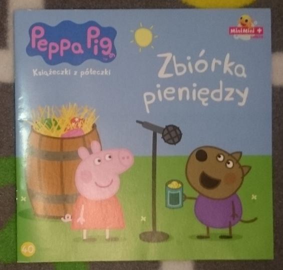 Świnka Peppa 40 - Zbiórka pieniędzy NOWA