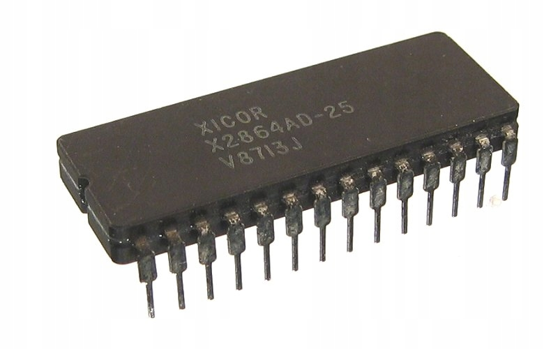 X2864AD-25 pamięć równoległa EEPROM 64k-bit 8k x 8