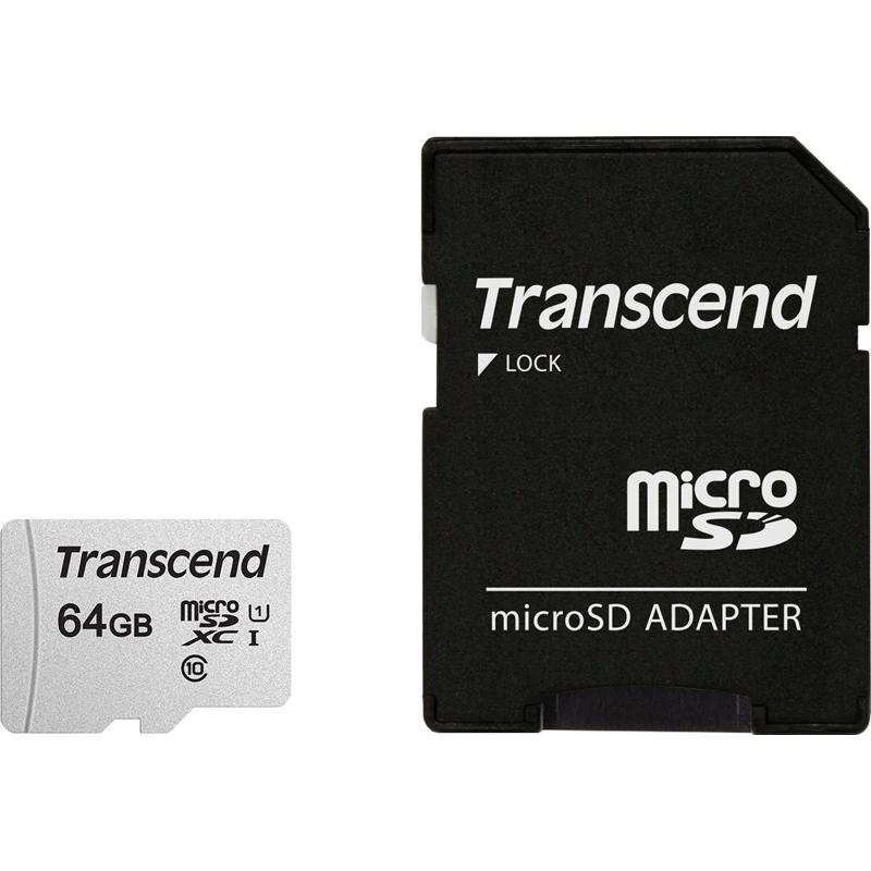 Transcend Memory microSDXC - Karta pamięci 64 GB C