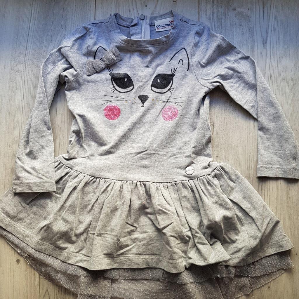 Sukienka dla dziewczynki 98 COCCODRILLO