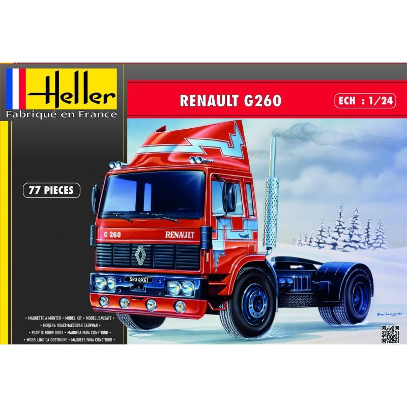 Ciezarowka Renault G260 Heller Model Do Sklejania 7149039322 Oficjalne Archiwum Allegro