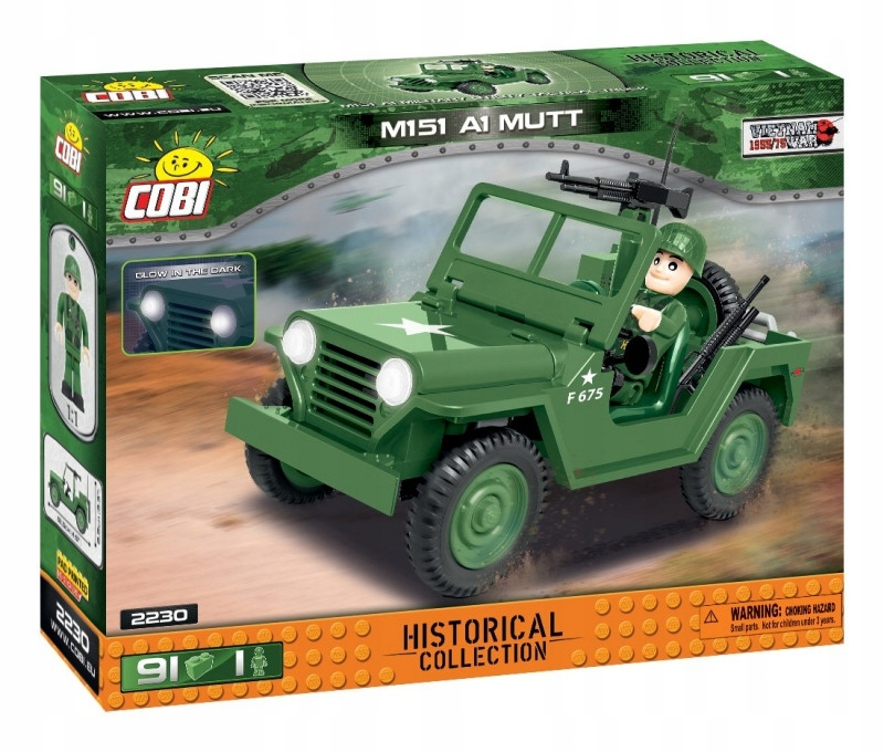 Cobi Klocki Klocki M151 A1 Mutt