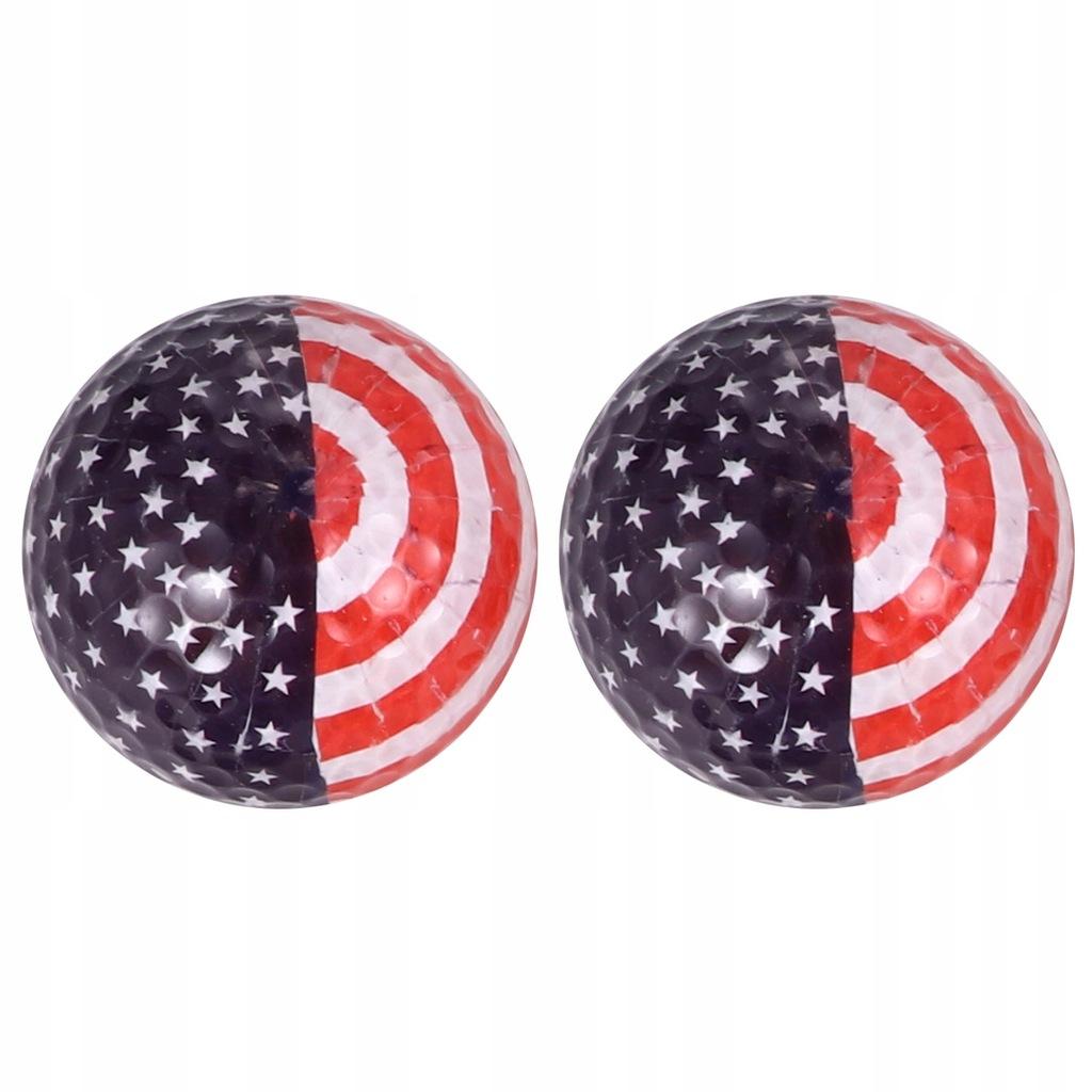 2 sztuk US Flag Wzór Ćwiczenia z golfa Symulacja g