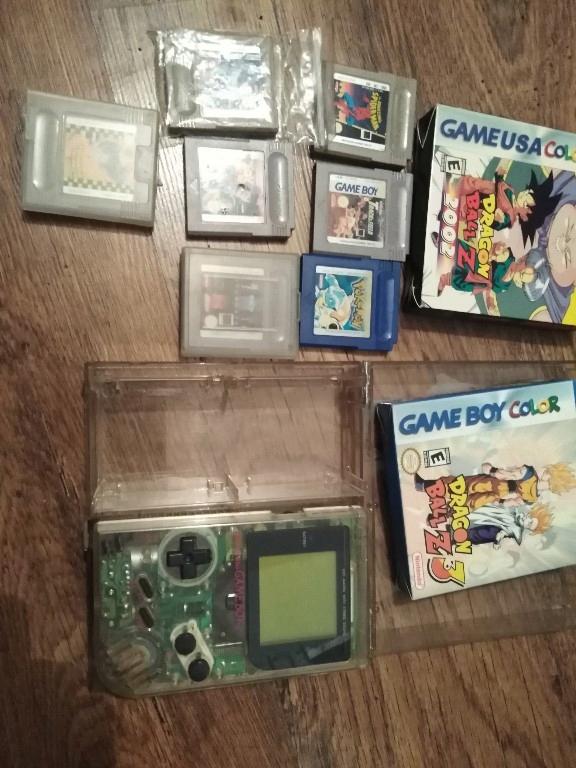 Gameboy classic mega zestaw konsola i gry okazja