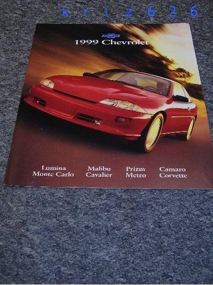 Chevrolet program cała gama - 1999 - USA