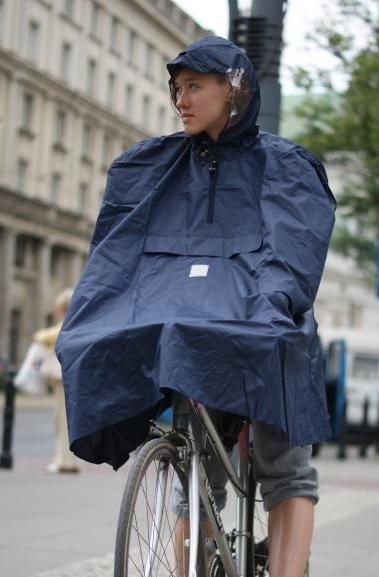 kurtka przeciwdeszczowa, płaszcz, peleryna - rower