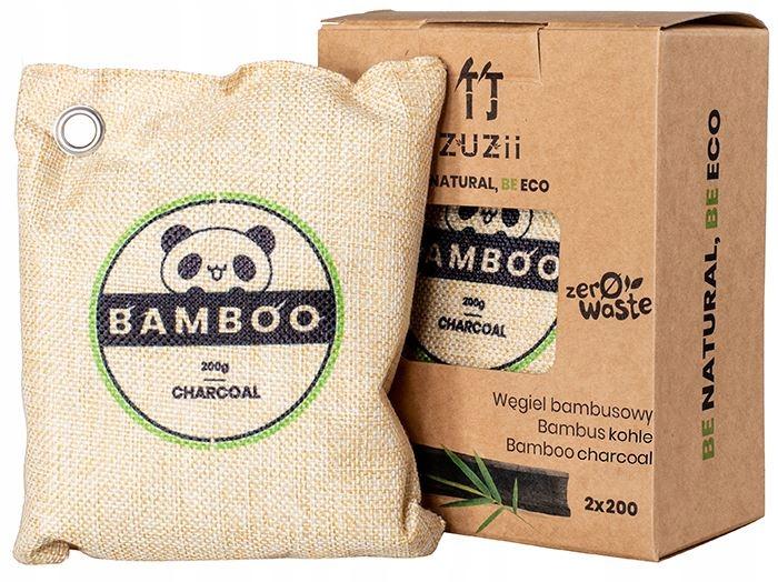 Węgiel bambusowy 2 x 200 g zuzii