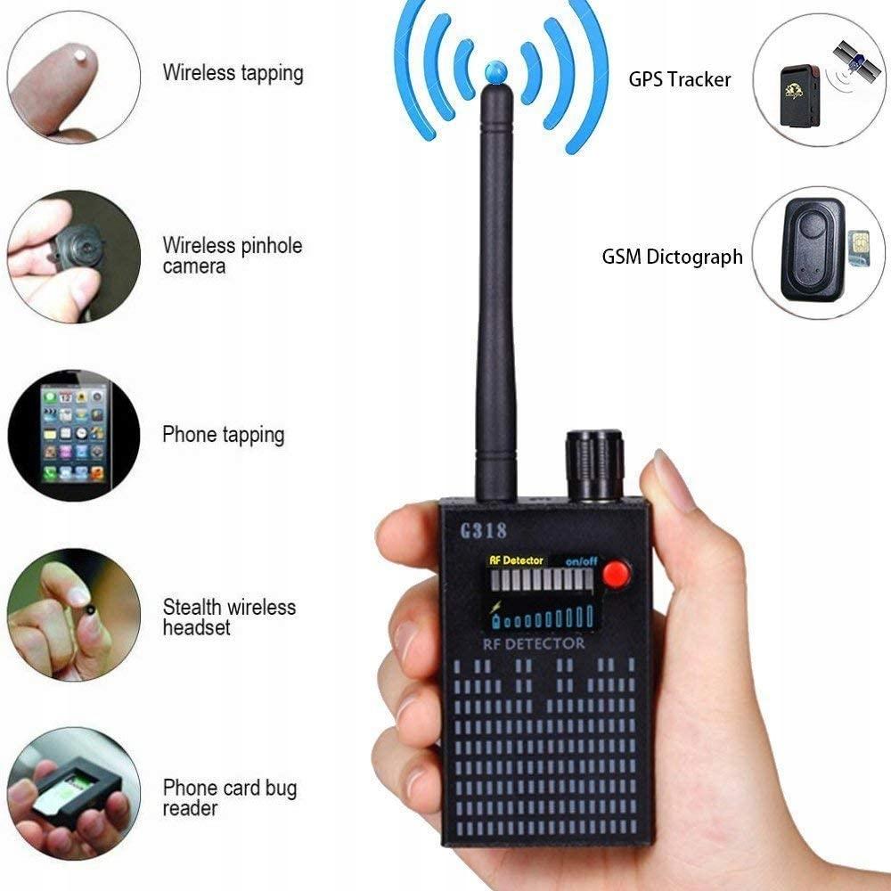 Wykrywacz podsłuchów, kamer, lokalizatorów GPS/GSM