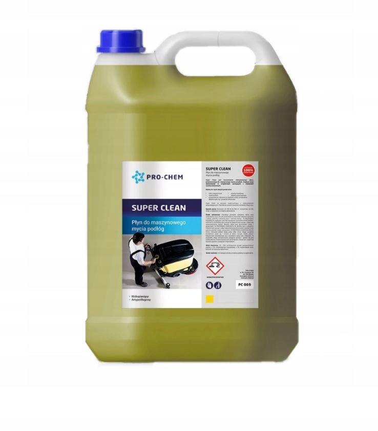 SUPER CLEAN Płyn maszynowe mycia podłóg 10L
