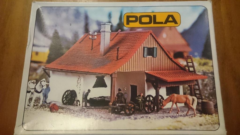 Domek POLA nr 244 skala N