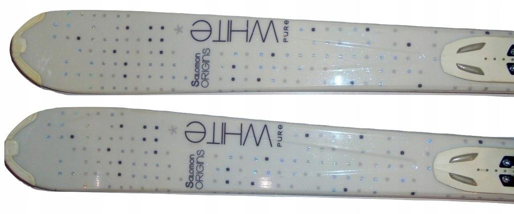 Narty SALOMON ORIGINS WHITE PURE dł. 151 cm