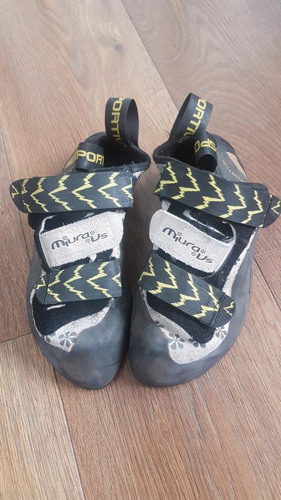 Buty wspinaczkowe La Sportiva Miura VS Vibram