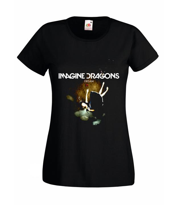 S KOSZULKA DAMSKA Imagine Dragons WZORY