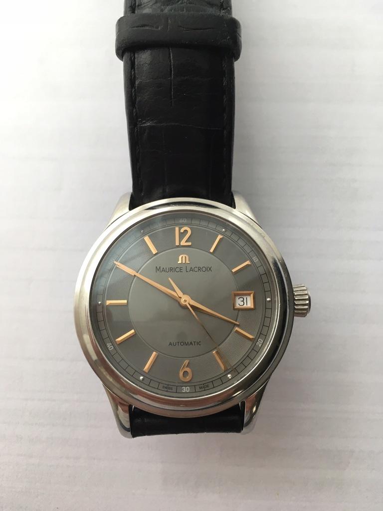 Zegarek męski klasyczny Maurice Lacroix 38mm