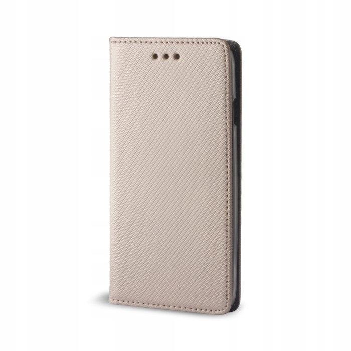 Etui Flip Magnet LG G6 złoty