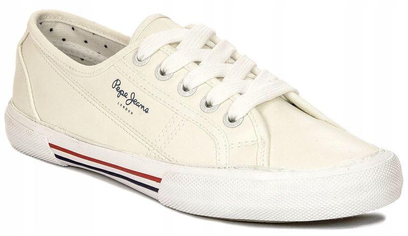 Trampki Pepe Jeans PLS30953 800 White białe r.38