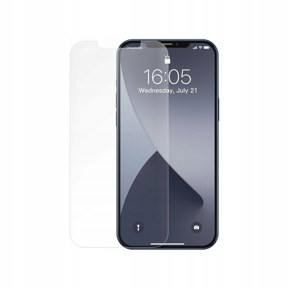 Baseus 0.25mm Full-glass Frosted Tempered Glass Fi