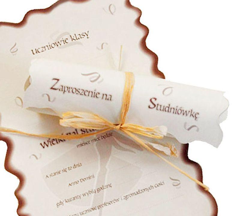 Zaproszenia Na Studniowke Studniowkowe Zpst6 6910999008 Oficjalne Archiwum Allegro