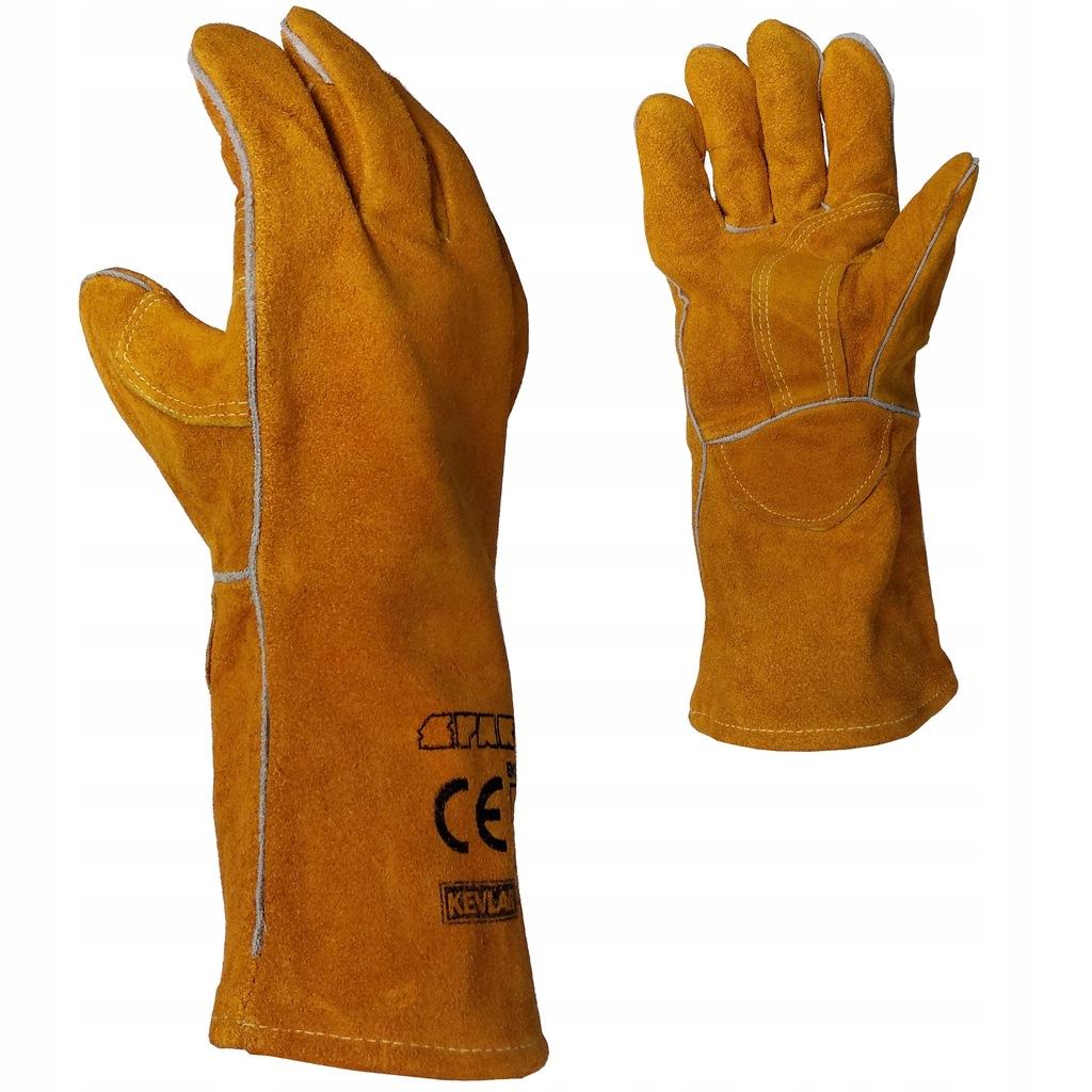 Rękawice do spawania MIG/MAG MMA SPARTUS dwoina
